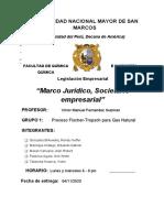 Avance 01 - Marco Jurídico Societario - Grupo 1