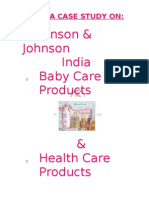 johnson n johnson case study