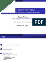service et mecanismes de securité