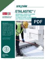 Fiche Etalastic V