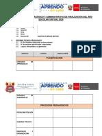 INFORME TÉCNICO PEDAGÓGICO- 2020 IEPPSMM N° 60374