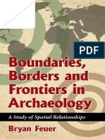 Boundaries, Borders and Frontiers in Archaeology _ A Study of Spatial Relationships ( PDFDrive.com )