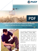 Brochure Informativo - Curso de Drones