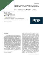 HOLMES, ANASTÁCIO. AUTORIDADE PRIVADA NA GOVERNANÇA DA INTERNET - regimes de nomes e domínios na AL