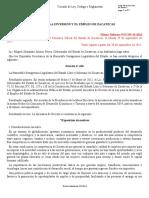 LEY PARA LA INVERSIÓN Y EL EMPLEO DE ZACATECAS (ÚLTIMA REFORMA 5 OCTUBRE 2016)