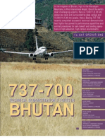 737-700_Tech_Demonstration_Flights_In_Bhutan