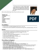 Ridwan Saidi - Wikipedia bahasa Indonesia, ensiklopedia bebas