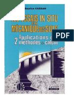 1978 - Les Essais in Situ en Mécanique Des Sols_Volume 2 - Cassan