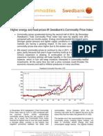 Energy & Commodities, January 2011