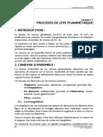 07_PROCEDÉS DE LEVÉ PLANIMÉTRIQUE