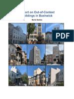 Out-Of-Context Building Bushwick Report (Winter 2020)
