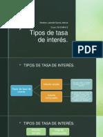 Tipos de tasa de interés-Resumen