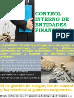 CONTROL INTERNO DE ENTIDADES FINANCIERAS