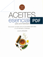 Julia Lawless - Aceites Esenciales Para Aromaterapia