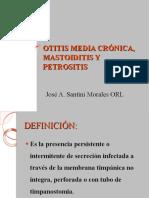 OMC, MASTOIDITIS Y PETROSITIS