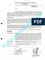 Resolución Rectoral 050/20