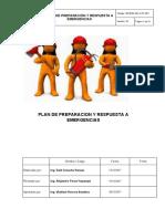 Plan de Preparación y Respuesta a Emergencia