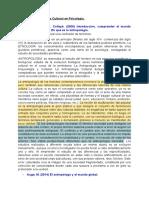 Temas de Antropología Cultural en Psicología (1)
