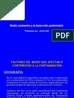 Factores Medio Ambiente que Contribuyen a la Contaminación