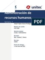 Tarea 7.1 Administración de Recursos Humanos