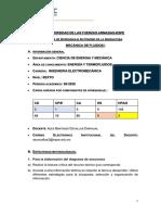 GUIA TRABAJO AUTÓNOMO MECANICA DE FLUIDOS I 3045