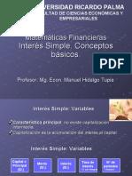 2  Interes Simple-- Matemáticas Financieras-presentacion