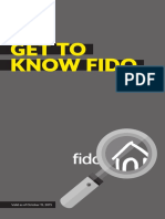 Fido Terms of Service and Other Important Information