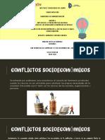 Conflictos socioeconómicos; Uso de suelo y agua