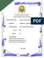 INFORME MEZCLADOR  RF