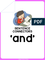 SENTENCE CONNECTOR - AND