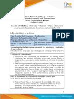 Guia de actividades y Rúbrica de evaluación - Etapa 5 - Estructurar una propuesta de estrategias de ventas para la compañía XYZ