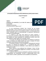 Língua Portuguesa - 9º ano