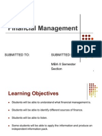 financial manangement