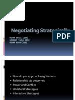 Negotiating Strategically case