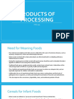 1e - Products of processing