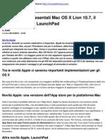 Novità Apple_ presentati Mac OS X Lion 10.7, il Mac App Store e LaunchPad - 2010-10-28