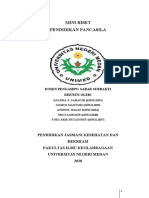 mini riset pendidikan Pancasila