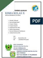 Cover Program Kimia Pakde Kls X - Ittifaqiyah