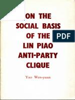 OnSocialBasisOfLinPiaoAnti-PartyClique-YaoWen-yuan-1975.pdf