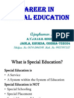 CAREER IN SPECIAL EDUCATION
