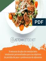 Custom Keto Diet PDF Gratis Español