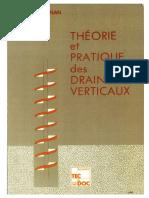 1983 - Théorie Et Pratique Des Drains Verticaux - Magnan