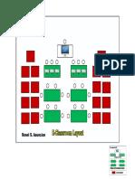 ICT Room Seat Plan