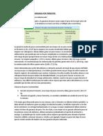 GANANCIA DE PESO RECOMENDADA POR TRIMESTRE Y PREOCUPACIONES NUTRICIONALES DE LAS EMBARAZADAS