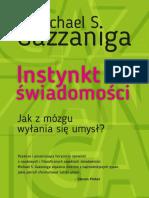 Gazzaniga Michael - Instynkt świadomości.pdf