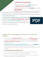 As influências genéticas e ambientais no comportamento - Cópia (1).ppt