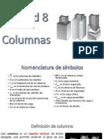 Unidad 8 COLUMNAS 2020-1