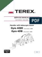 Terex Gyro Service Manual