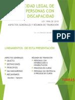CAPACIDAD LEGAL DE LAS PERSONAS CON DISCAPACIDAD por LEG.pptx
