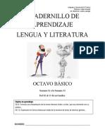 Cuadenillo 8vo Lengua y Literatura.